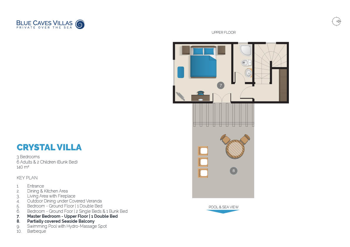 Crystal Blue Caves Villa