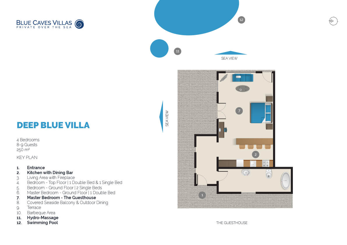 Deep Blue Blue Caves Villa